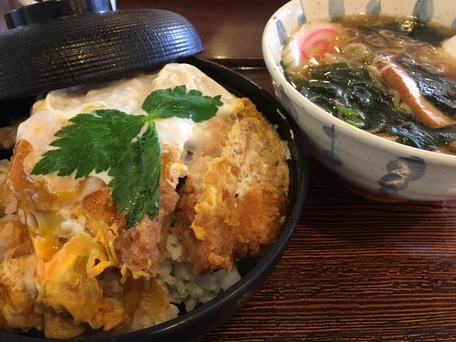 カツ丼ラーメンセット900円