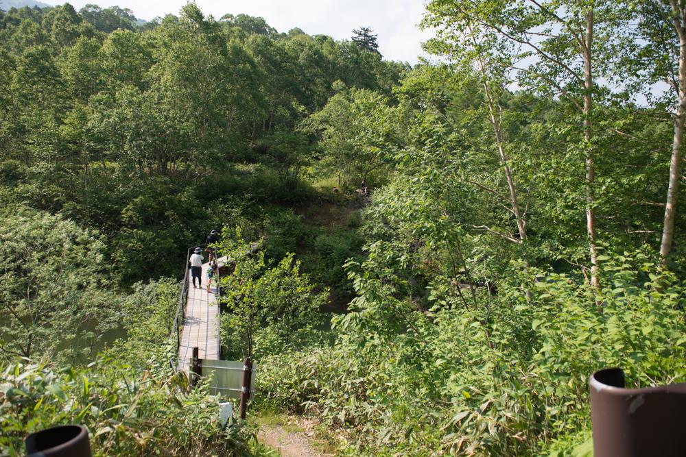 野反湖吊橋