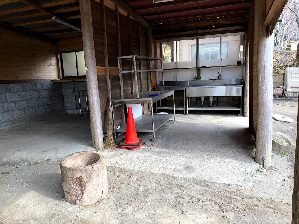 オレンジ村 炊事場